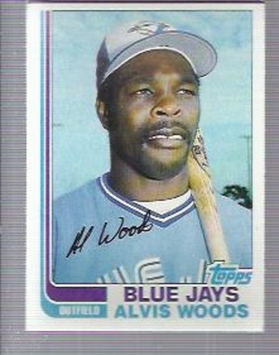 Photo of 1982 Topps #49 Alvis Woods