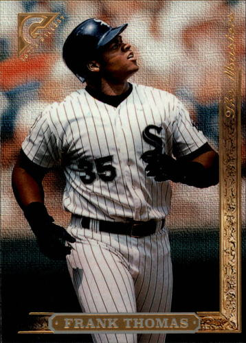 Photo of 1996 Topps Gallery #175 Frank Thomas