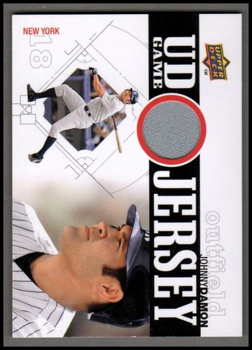 Photo of 2010 Upper Deck UD Game Jersey #DA Johnny Damon