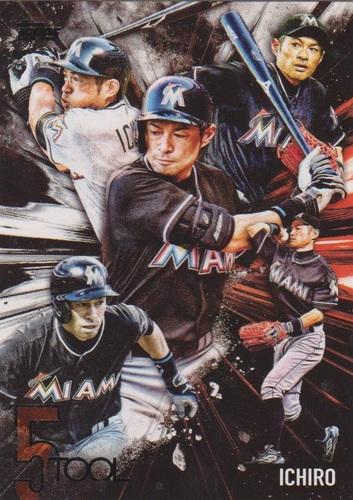 Photo of 2017 Topps Five Tool #5T33 Ichiro Suzuki