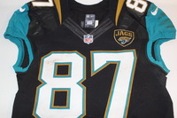 NFL INTERNATIONAL SERIES - JAGUARS NEAL STERLING GAME WORN JAGUARS JERSEY (OCTOBER 2, 2016)