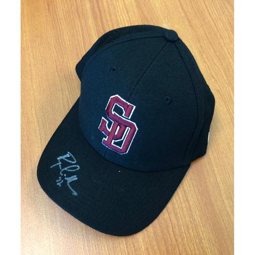 Photo of Ryan LaMarre Autographed, Game-Worn Stoneman Douglas Eagles Cap - NOT MLB Authenticated