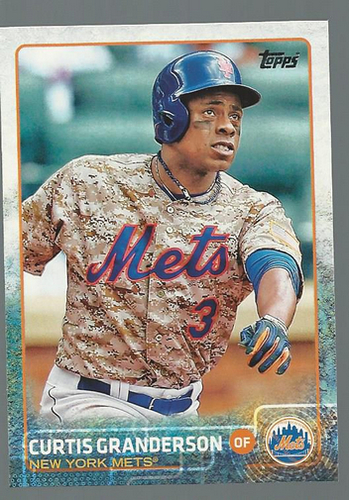 Photo of 2015 Topps #4 Curtis Granderson