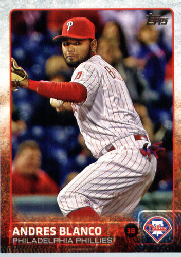 Photo of 2015 Topps Update #US205 Andres Blanco