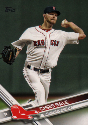 Photo of 2017 Topps Update #US100 Chris Sale