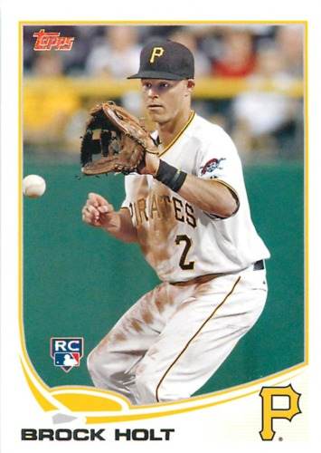 Photo of 2013 Topps #171 Brock Holt RC