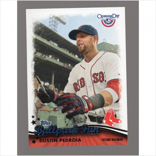 Photo of 2013 Topps Opening Day Ballpark Fun #BF1 Dustin Pedroia