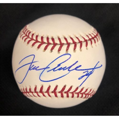 Photo of Joe Crede Autographed 2005 World Series Baseball