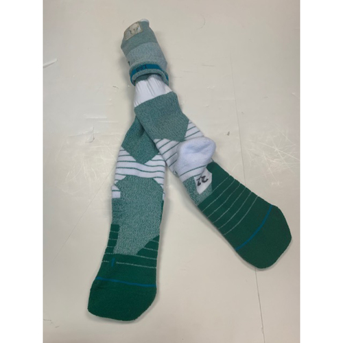 Photo of Pair of Team-Issued Green Socks: Michael Fulmer
