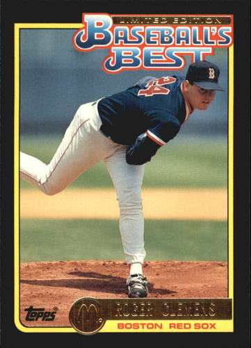 Photo of 1992 Topps McDonald's #10 Roger Clemens