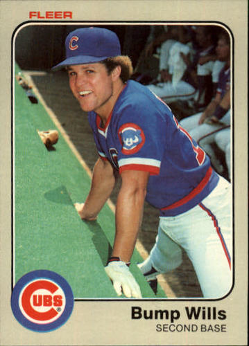 Photo of 1983 Fleer #511 Bump Wills