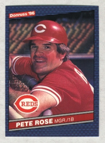 Photo of 1986 Donruss #62 Pete Rose