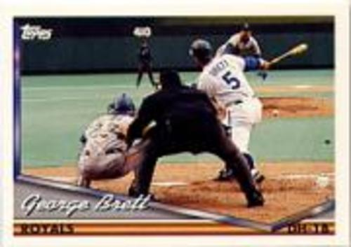 Photo of 1994 Topps Pre-Production #397 George Brett