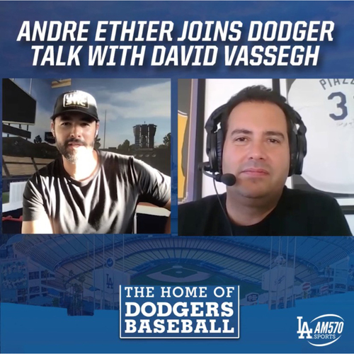 Photo of Video Conference with Andre Ethier and DodgerTalk co-host David Vassegh on AM 570 LA Sports