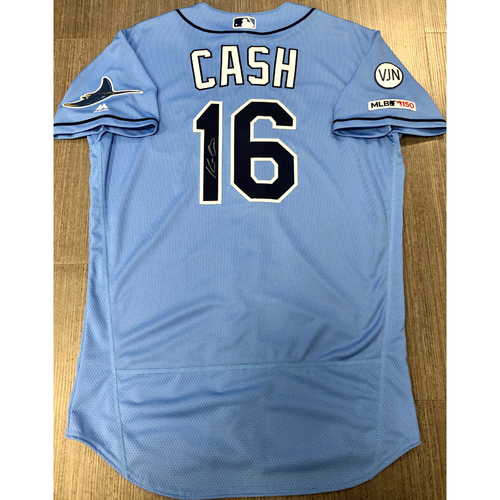 Photo of Team Issued Autographed Jersey: Kevin Cash