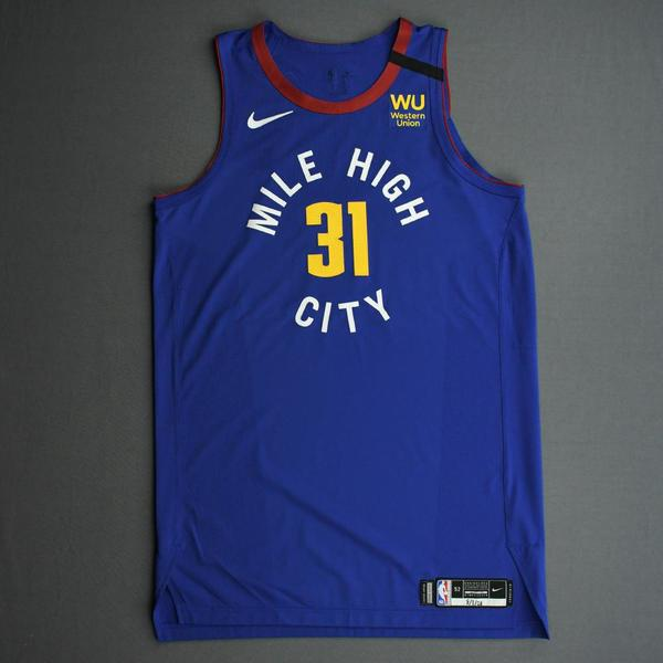Image of Vlatko Cancar - Denver Nuggets - Game-Issued Statement Edition Jersey - 2019-20 NBA Season Restart with Social Justice Message