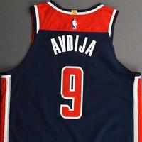 Deni Avdija - Washington Wizards - Kia NBA Tip-Off 2020 - Game-Worn Statement Jersey - NBA Debut (9th Overall Draft Pick)
