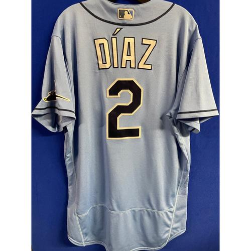 Photo of Game Used 2020 Spring Training Jersey: Yandy Diaz - 3 Games - February 23 v NYY, February 24 v BOS & February 27 v DET