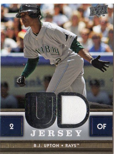 Photo of 2008 Upper Deck UD Game Materials #BU B.J. Upton S2