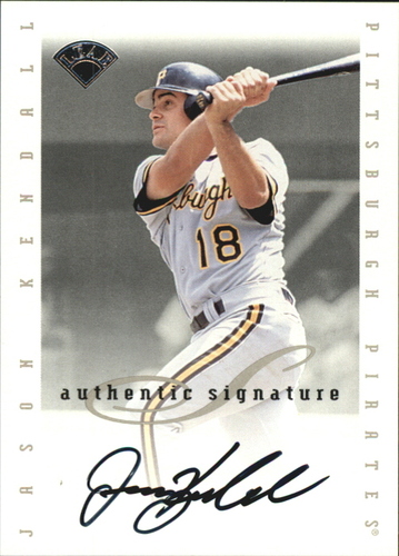 Photo of 1996 Leaf Signature Extended Autographs #98 Jason Kendall SP/2500
