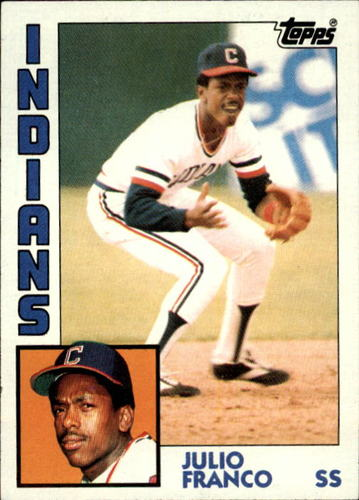 Photo of 1984 Topps #48 Julio Franco