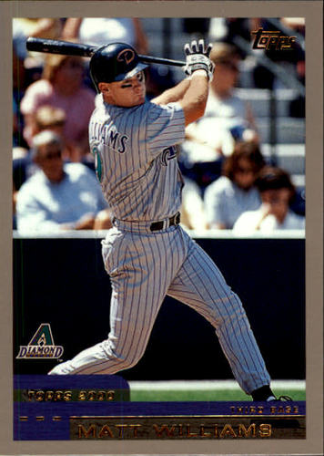 Photo of 2000 Topps #5 Matt Williams