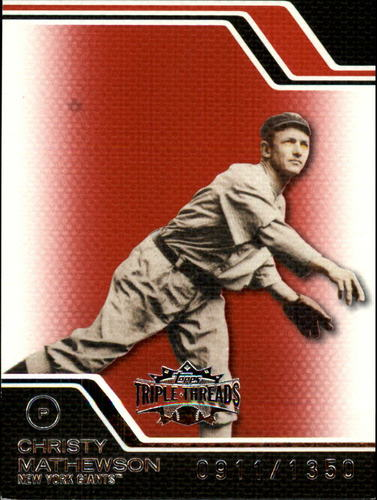 Photo of 2008 Topps Triple Threads #230 Christy Mathewson
