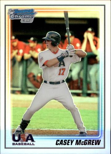 Photo of 2010 Bowman Chrome USA Baseball Refractors #BC12 Casey McGrew