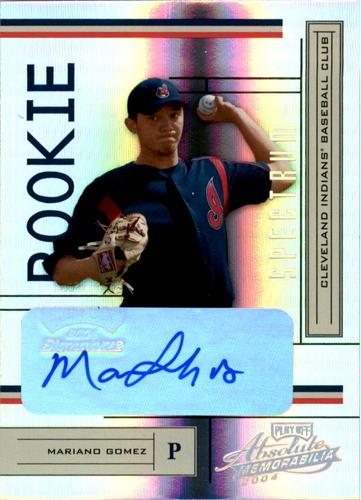Photo of 2004 Absolute Memorabilia Signature Spectrum Gold #221 Mariano Gomez/100