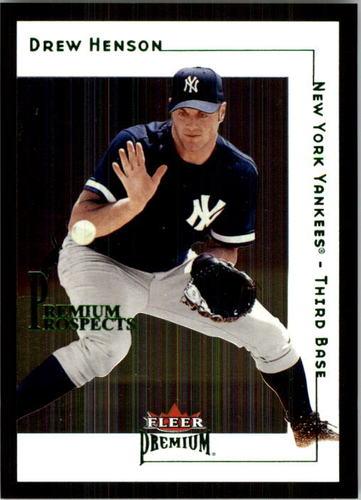 Photo of 2001 Fleer Premium #235 Drew Henson RC