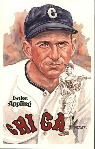 Photo of 1980-02 Perez-Steele Hall of Fame Postcards #95 Luke Appling  -- HOF Class of 1964