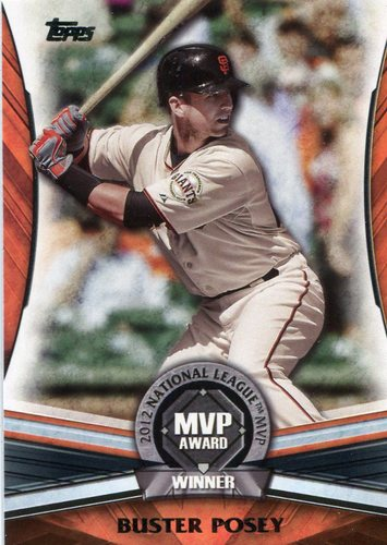 Photo of 2017 Topps Update MVP Award #MVP24 Buster Posey
