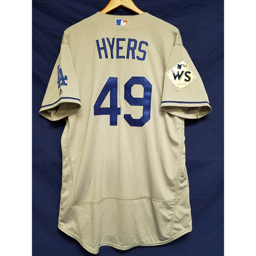 Photo of Tim Hyers 2017 Road World Series Team-Issued Jersey