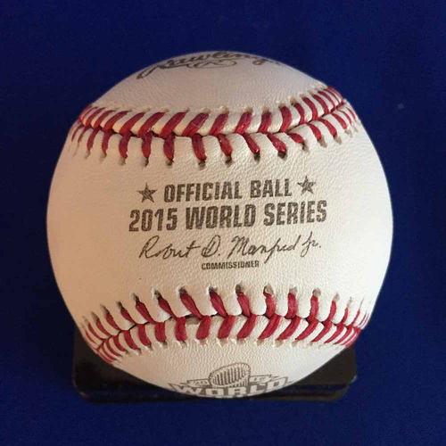 Photo of UMPS CARE AUCTION: Joe Torre 2015 World Series Signed Baseball - Not MLB Authenticated