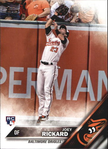 Photo of 2016 Topps Update #US105 Joey Rickard RC
