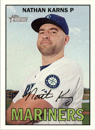 Photo of 2016 Topps Heritage #16 Nathan Karns