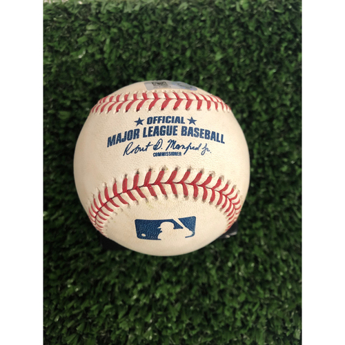 Photo of Freddie Freeman Game Used Home Run Baseball, Swanson Single - 6/1/2019