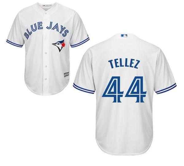 Toronto Blue Jays Rowdy Tellez Replica Home Jersey by Majestic
