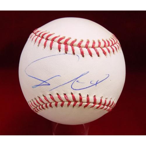 Photo of Yu Darvish Autographed Baseball