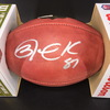 NFL - Saints Jared Cook Signed Authentic Football