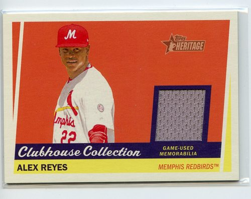 Photo of 2016 Topps Heritage Minors Clubhouse Collection Relics #CCRAR Alex Reyes