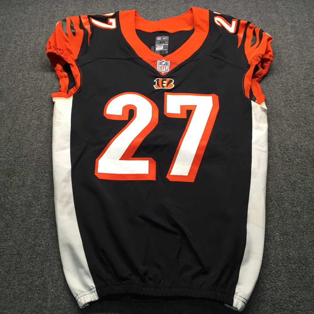 NFL Auction | Crucial Catch - Bengals Dre Kirkpatrick Game Used ...