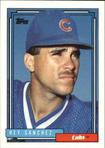 Photo of 1992 Topps Traded #98T Rey Sanchez RC