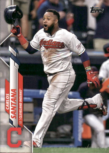 Photo of 2020 Topps #272 Carlos Santana