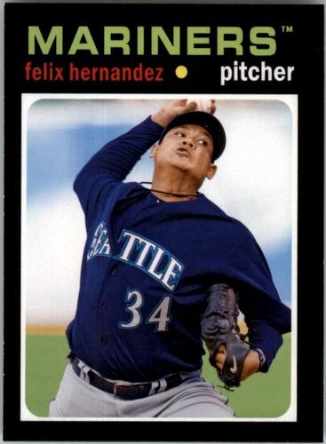 Photo of 2013 Topps Update '71 Topps Minis #36 Felix Hernandez