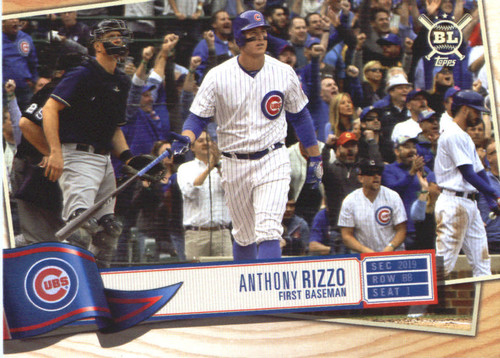 Photo of 2019 Topps Big League #7 Anthony Rizzo