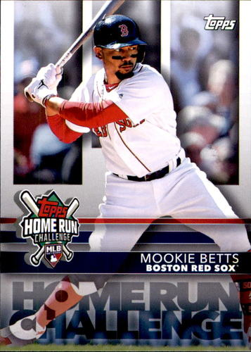 Photo of 2020 Topps Home Run Challenge Code Cards #HRC5 Mookie Betts