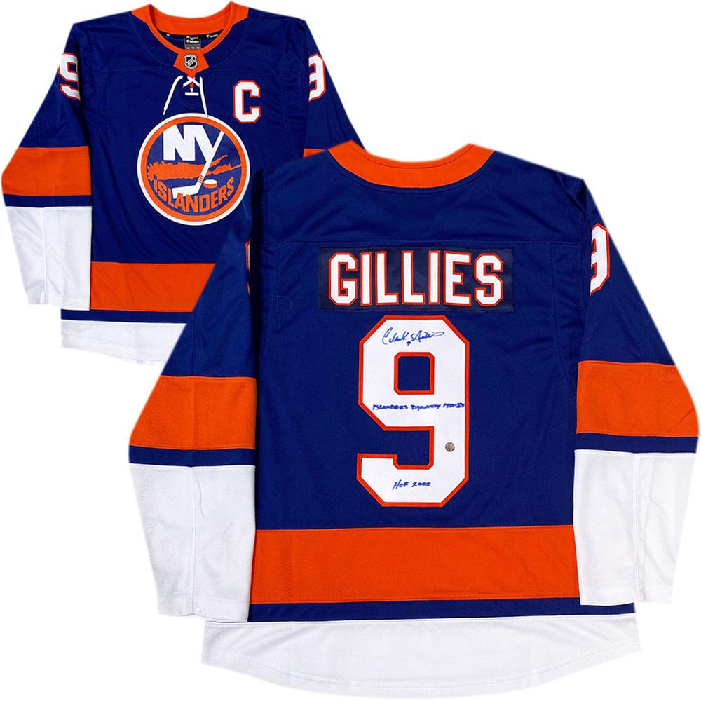 Clark Gillies Autographed New York Islanders