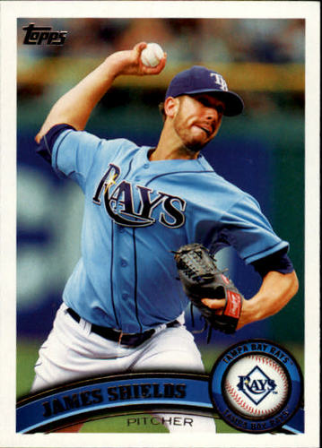 Photo of 2011 Topps #311 James Shields