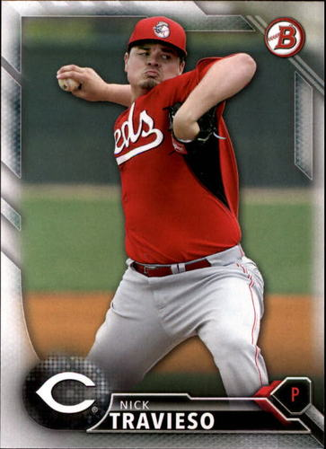 Photo of 2016 Bowman Prospects #BP149 Nick Travieso